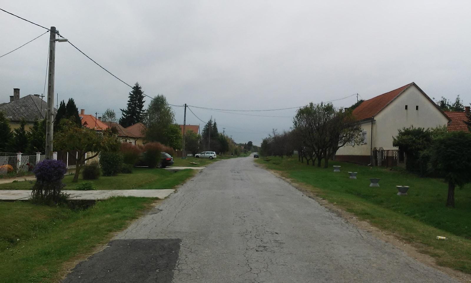 Rinyaszentkirály falu